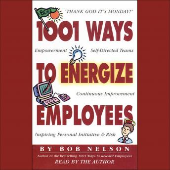 1001 Ways to Energize Employees sample.
