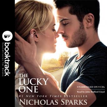 Lucky One: Booktrack Edition, Nicholas Sparks