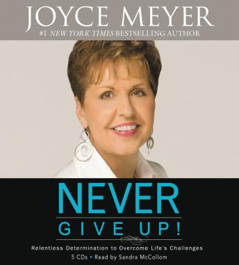 Never Give Up!: Relentless Determination to Overcome Life's Challenges sample.