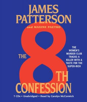 8th Confession, Maxine Paetro, James Patterson