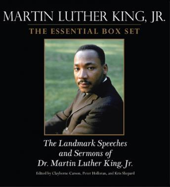 Download Martin Luther King: The Essential Box Set: The Landmark Speeches and Sermons of Martin Luther King, Jr. by Clayborne Carson, Peter C. Holloran, Kris Shepard, Peter Holloran