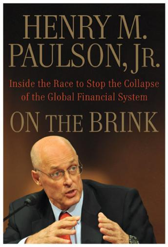 On the Brink, Henry M. Paulson Jr