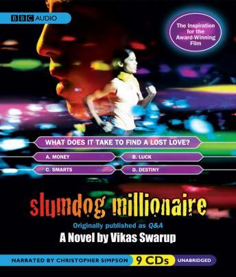 Slumdog Millionaire Book