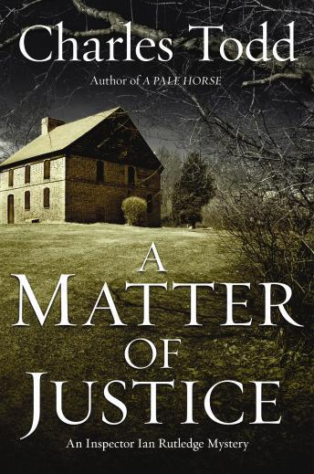A Matter of Justice, Charles Todd