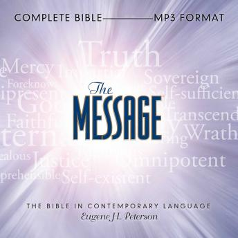 Download Message Bible: Complete Bible by Eugene H Peterson
