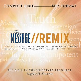 Download Message Remix Bible: Complete Bible by Eugene H Peterson