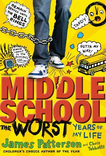 Middle School, The Worst Years of my Life, Laura Park, Chris Tebbetts, James Patterson