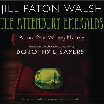Attenbury Emeralds, Jill Paton Walsh