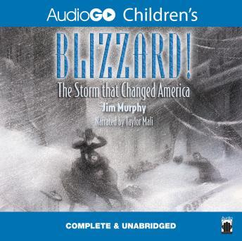 Blizzard!: The Storm That Changed America, Jim Murphy