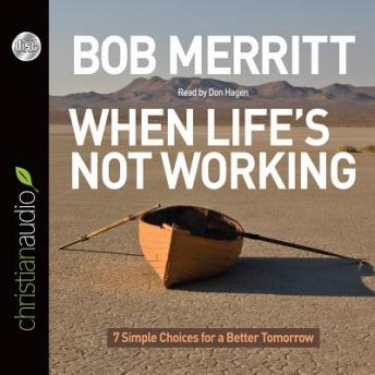 When Life's Not Working: 7 Simple Choices for a Better Tomorrow, Bob Merritt