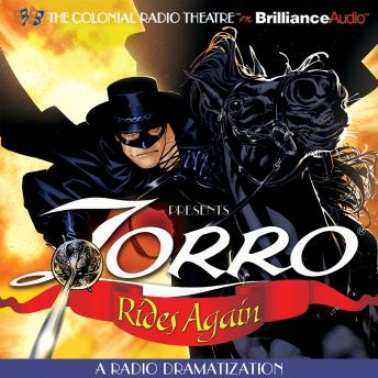 Download Zorro Rides Again by Johnston McCulley, D. J. Arneson