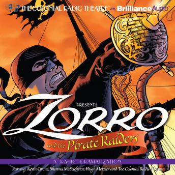 Zorro and the Pirate Raiders, D. J. Arneson, Johnston McCulley