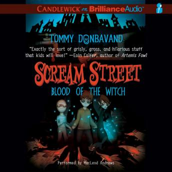Scream Street: Blood of the Witch, Tommy Donbavand