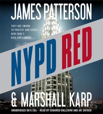 NYPD Red, Marshall Karp, James Patterson