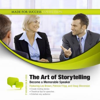 Art of Storytelling: Becoming a Memorable Speaker, Jeff Davidson