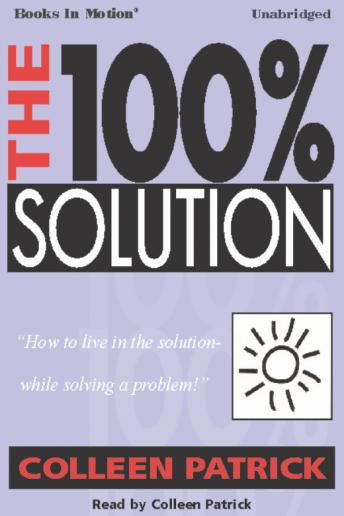 100% Solution, Colleen Patrick