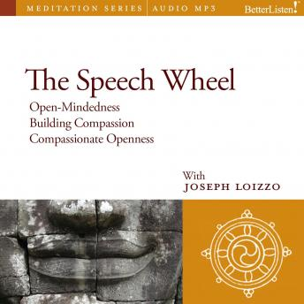 Speech Wheel: Compassion and Social Healing Guided Mediations from the Nalanda Institute, Joe Loizzo