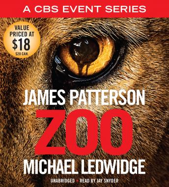 Download Zoo by James Patterson, Michael Ledwidge