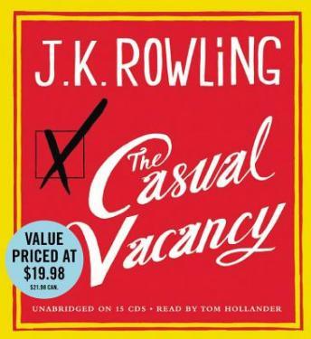Amazon. Com: the casual vacancy (audible audio edition): j. K.