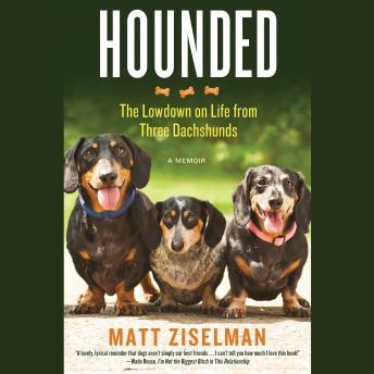 Hounded: The Lowdown on Life from Three Dachshunds, Matt Ziselman