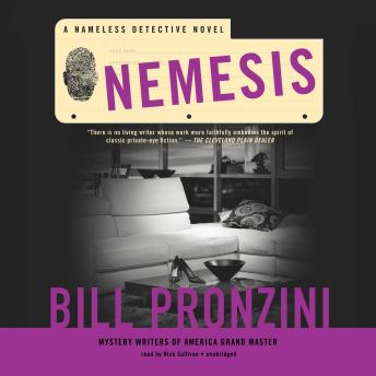 Nemesis: A Nameless Detective Novel, Bill Pronzini
