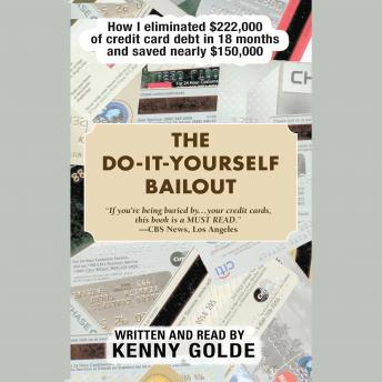 The Do-It-Yourself Bailout: How I Eliminated $222,000 of Credit Card Debt in Eighteen Months and Saved Nearly $150,000, Kenny Golde