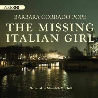 Missing Italian Girl, Barbara Corrado Pope