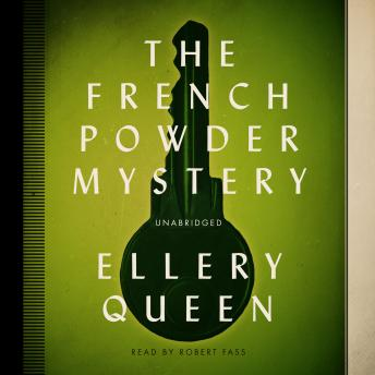 French Powder Mystery, Ellery  Jr. Queen