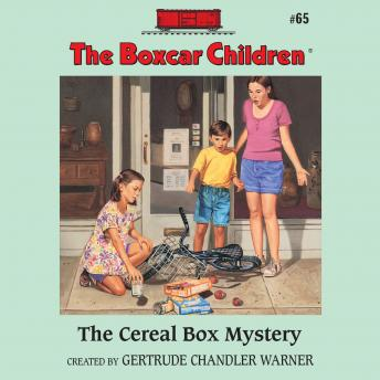 Cereal Box Mystery, Gertrude Chandler Warner