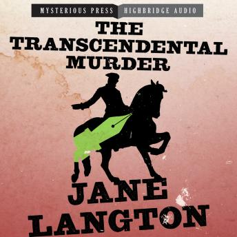Transcendental Murder, Jane Langton