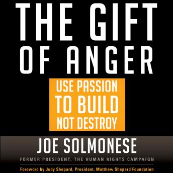 Gift of Anger: Use Passion to Build Not Destroy, Joe Solmonese