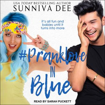 Download #PrankLove in Blue by Sunniva Dee