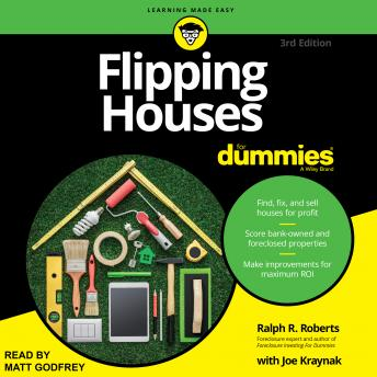 Flipping Houses For Dummies: 3rd Edition