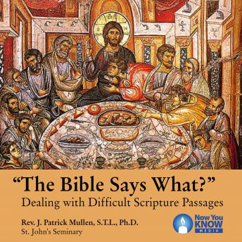 Bible Says What?: Dealing with Difficult Scripture Passages, Patrick J. Mullen