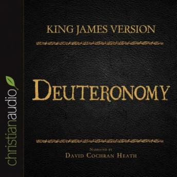 Holy Bible in Audio - King James Version: Deuteronomy, Various Contributors