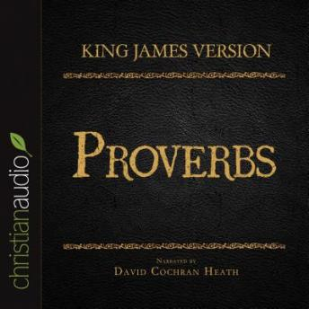 Holy Bible in Audio - King James Version: Proverbs, Various Contributors