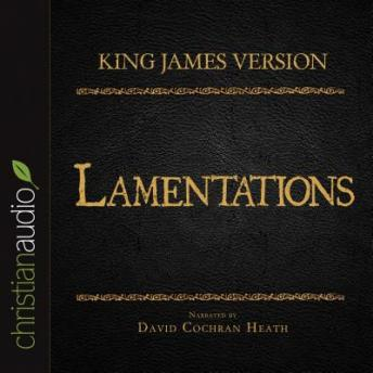 Holy Bible in Audio - King James Version: Lamentations, Various Contributors