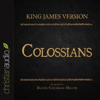Holy Bible in Audio - King James Version: Colossians, Various Contributors