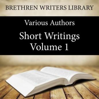 Short Writings Volume 1 sample.