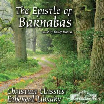Epistle of Barnabas, Various Authors