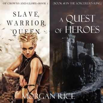 Quest of Heroes, A & Slave, Warrior, Queen Bundle, Morgan Rice