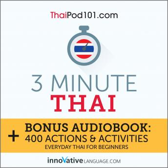 3-Minute Thai: Everyday Thai for Beginners