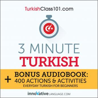 3-Minute Turkish: Everyday Turkish for Beginners