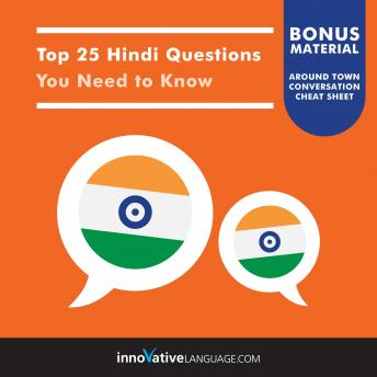 Top 25 Hindi Questions You Need to Know, Innovative Language Learning