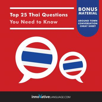 Top 25 Thai Questions You Need to Know sample.