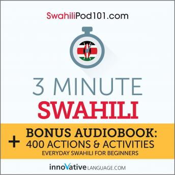3-Minute Swahili: Everyday Swahili for Beginners