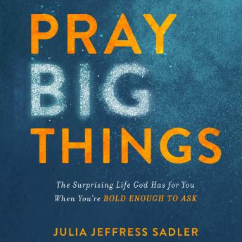 Pray Big Things: The Surprising Life God Has for You When You're Bold Enough to Ask, Julia Jeffress Sadler