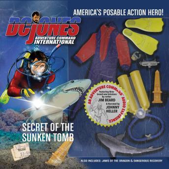 DC Jones and Adventure Command International: Secret of the Sunken Tomb