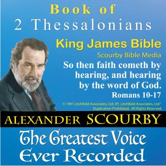53_2 Thessalonians_King James Bible, Scourby Bible Media
