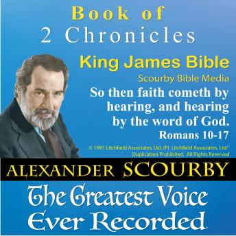 14_2 Chronicles_King James Bible, Audio book by Scourby Bible Media